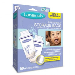 Lansinoh Breastmilk Storage Bags 50 Count
