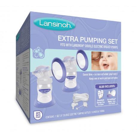 Lansinoh Extra Pumping Set