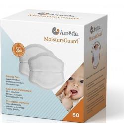 Ameda MoistureGuard Disposable Nursing Pads, 50 Count