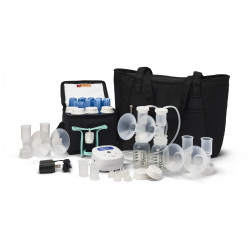 Ameda Mya Joy Double Electric Breast Pump with Large Tote & Deluxe