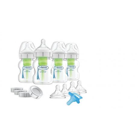 Dr. Brown's Breastfeeding Baby Bottles Feeding Set Wide-Neck
