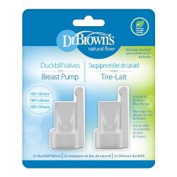 Dr. Brown's Duckbill Valves for Breast Pump, 2pk