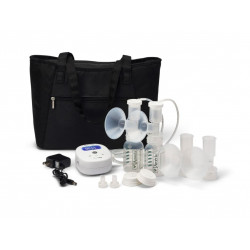 Ameda Mya Joy Double Electric Breast Pump with Large Tote
