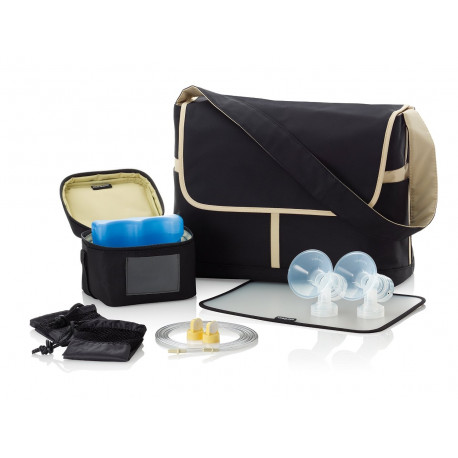 New Medela Tpump Messenger Bag