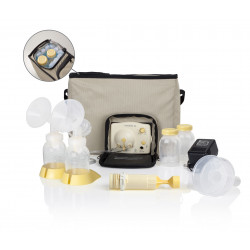 Medela Pump In Style Advanced Personal Breast Pump (Beige tote bag)