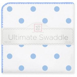 SwaddleDesigns Ultimate Swaddle With Big Dots