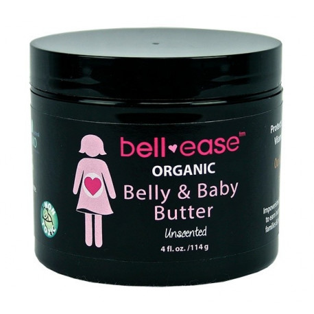 Bell-ease 100% Organic Belly & Baby Butter