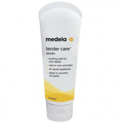 Medela Tender Care Lanolin Tube, 2 Ounce