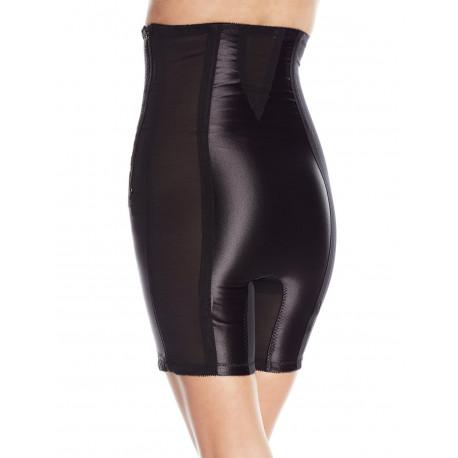 Rago High Waist Half Leg Shaper With Zipper 6210